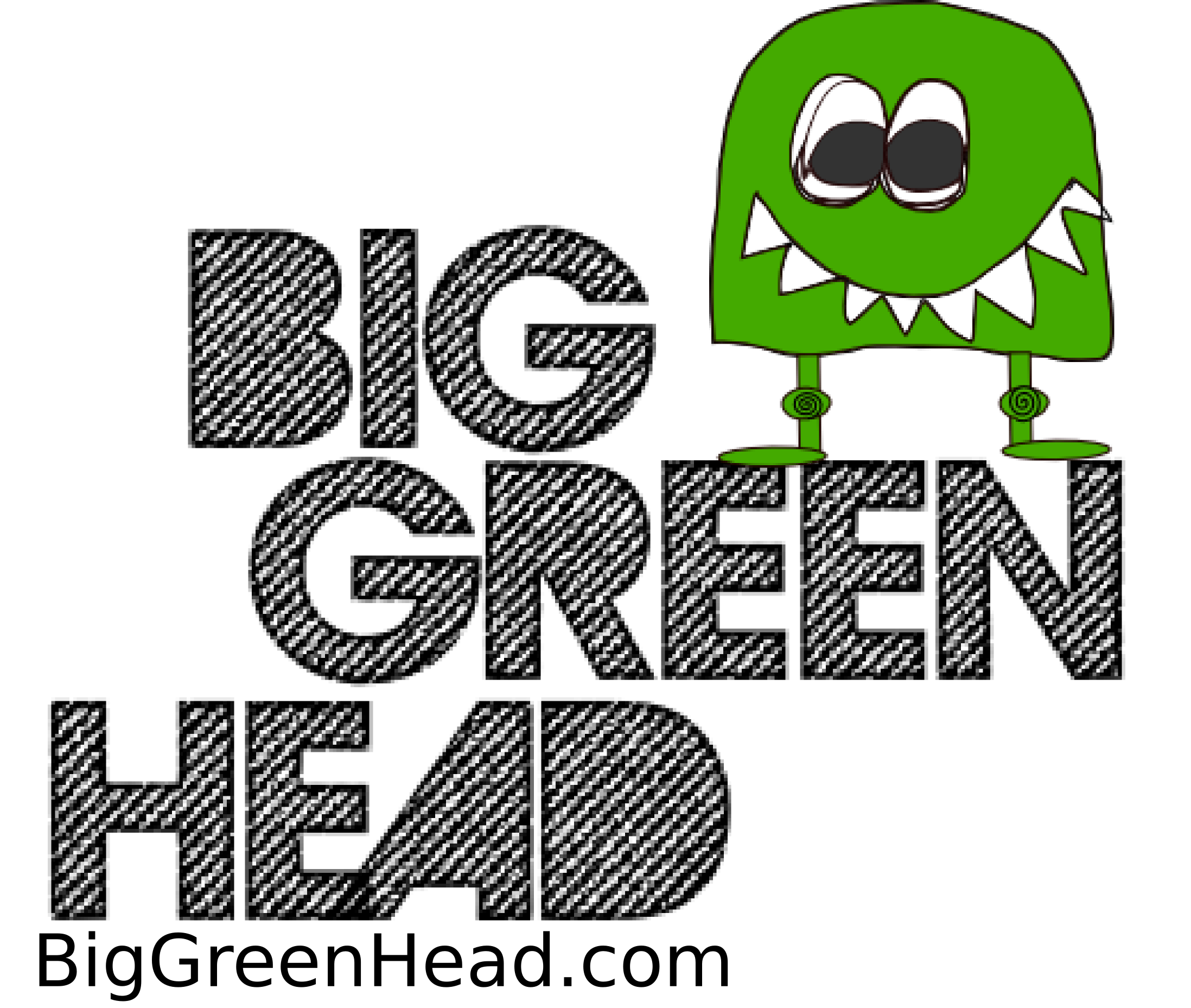 Big Green Head