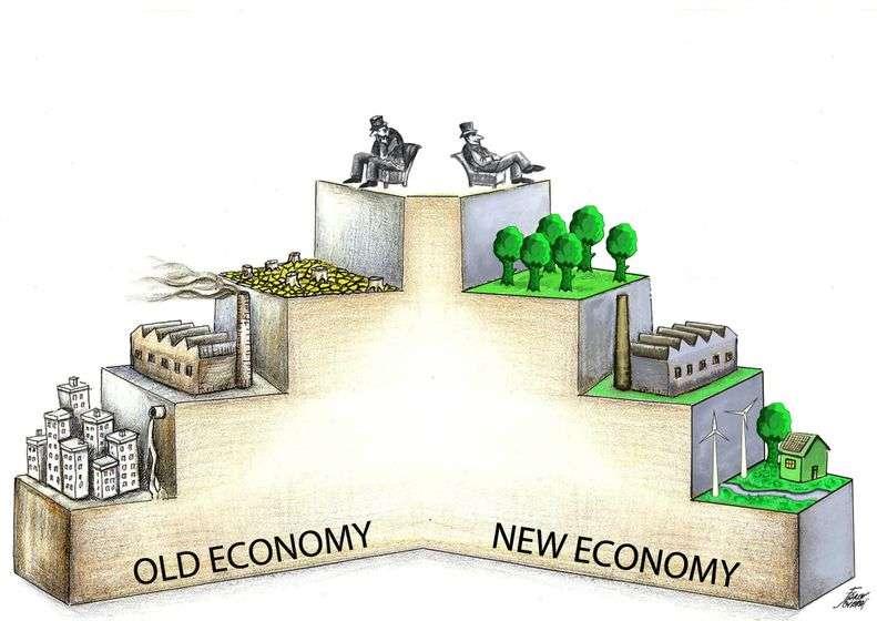 New Economy Old Economy