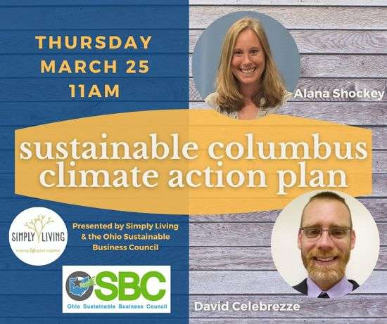 Virtual Meeting: The Columbus Climate Action Plan And The Role Of Small Business